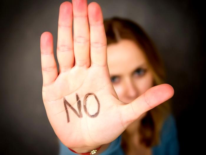 formas de decir no